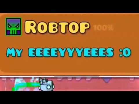 THIS LEVEL IS GEOMETRY DASH 8) : I built a level - Player Time (Original Art Level)