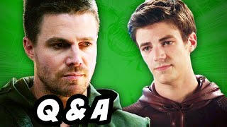Arrow Season 3 and The Flash Episode 6 Q&A #FLARROW
