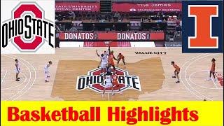 Illinois vs <b>Ohio State Basketball</b> Game Highlights 3 6 2021
