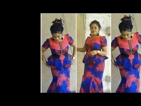 African Fabulous dress styles for nice ladies- Ankara,Aso,Ebi Styles