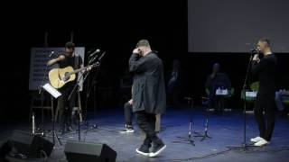 Баста - Сансара и Я смотрю на небо, живое выступление на премии НацБест 2017