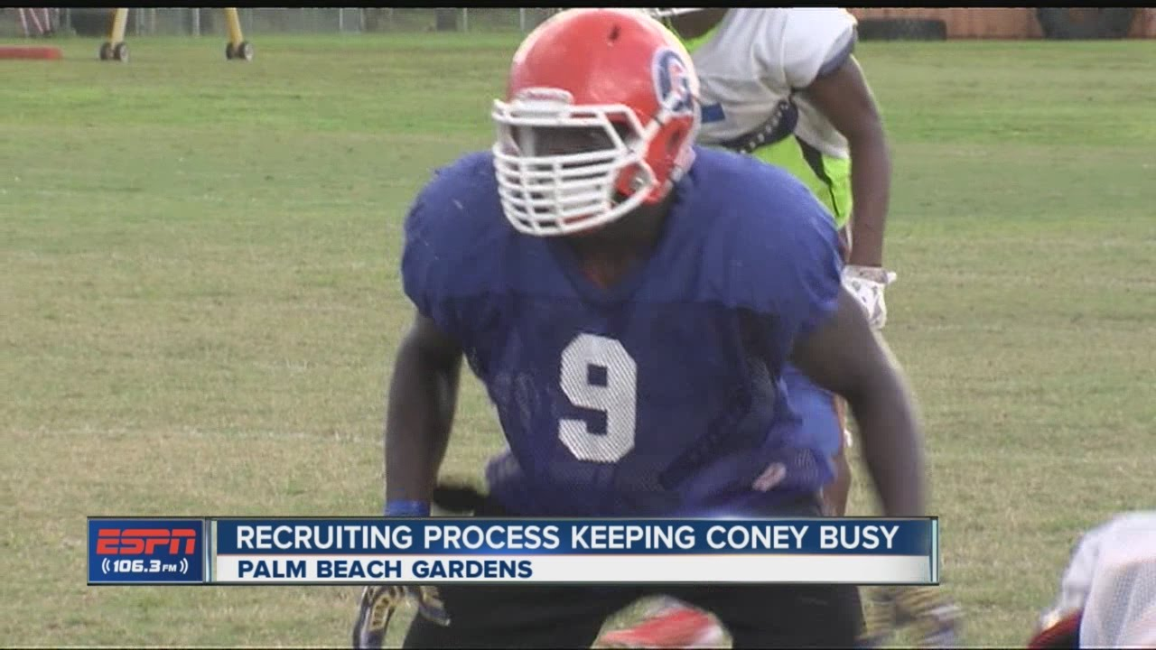 new concept d2b89 79811 Recruiting process keeping Tevon Coney busy
