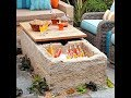 DIY Outdoor Table Design Ideas