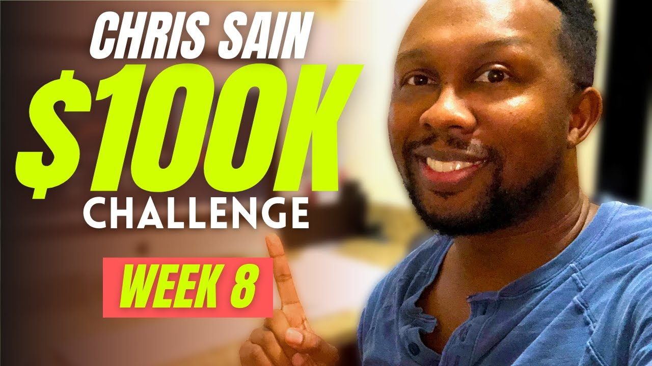 CHRIS SAIN $100K CHALLENGE | WEEK 8 | BIG OPTION MISTAKE | 2021