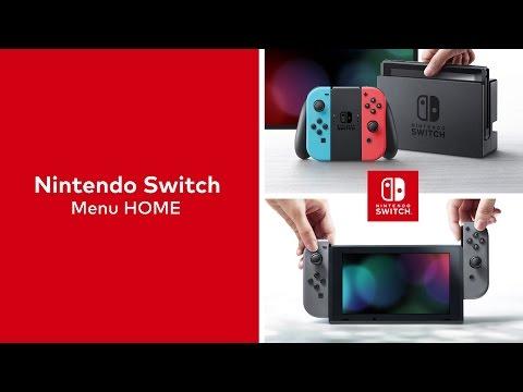 Nintendo Switch – Menu HOME