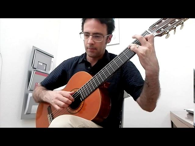 Intermediate Classical Guitar: Tarrega's Etude in C major