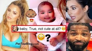 Khloe Kardashian Checks Fans about CUTE Baby & Tristan can't see Thots 😆👊