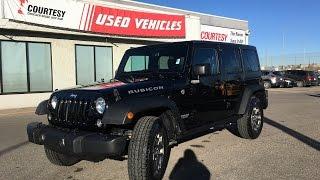 2015 Jeep Wrangler Unlimited | Rubicon | Black | Leather | Courtesy Chrysler