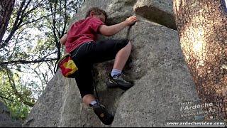 Ardèche - Escalade Enfants (Chassezac) (4K)