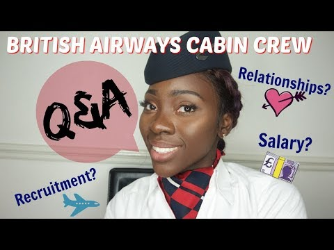 Cabin crew Q&A | Salary? Dating? Recruitment?