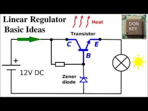 Howto repair switch mode power supplies #6: Basics of Linear Regulators and  voltage references