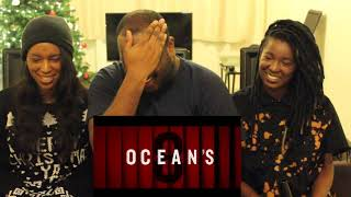 OCEAN'S 8 - Official 1st Trailer REACTION + THOUGHTS!!!
