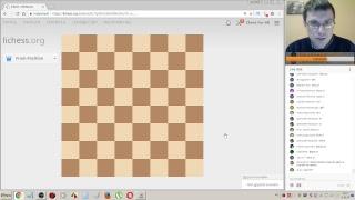 Шахматы. Прямая трансляция. Игра со зрителями на lichess.org (попытка №2)