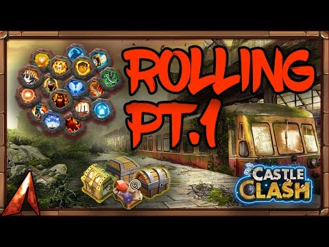 Castle Clash Events + Rolling Gems On Main!