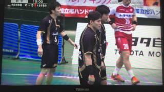 ハンドボール日本選手権2016決勝  全日本総合