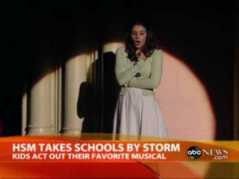 Topeka's High school Musical on Stage! cast on GMA Update