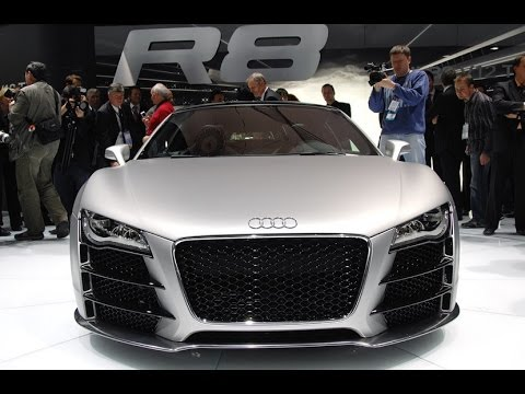 2018 Audi R8 V10 Convertible - 2017 New York International Autoshow - YouTube