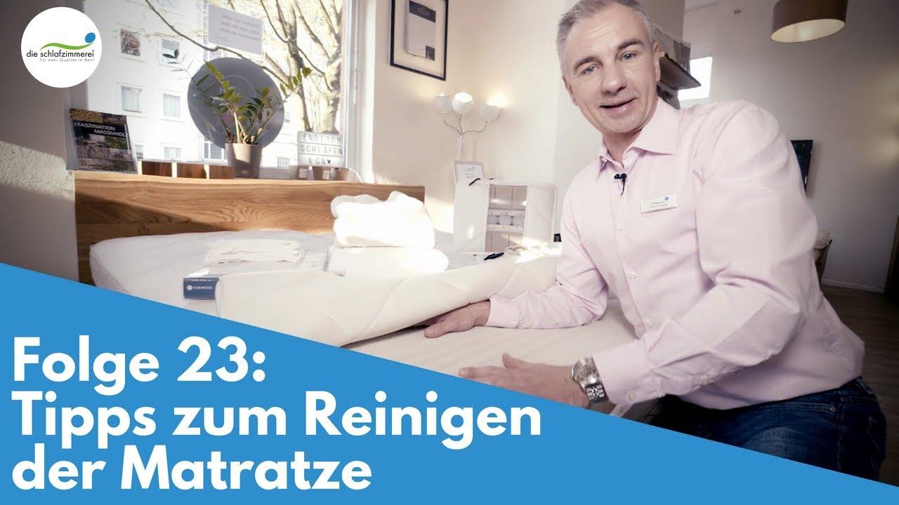 Folge 23: Tipps zum Reinigen der Matratze