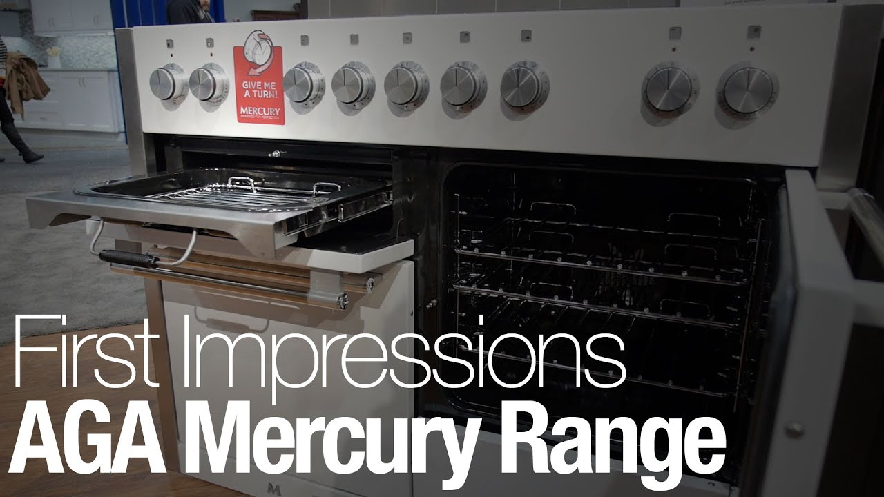 The Aga Mercury Range Is Unlike Any Oven You Ve Ever Seen
