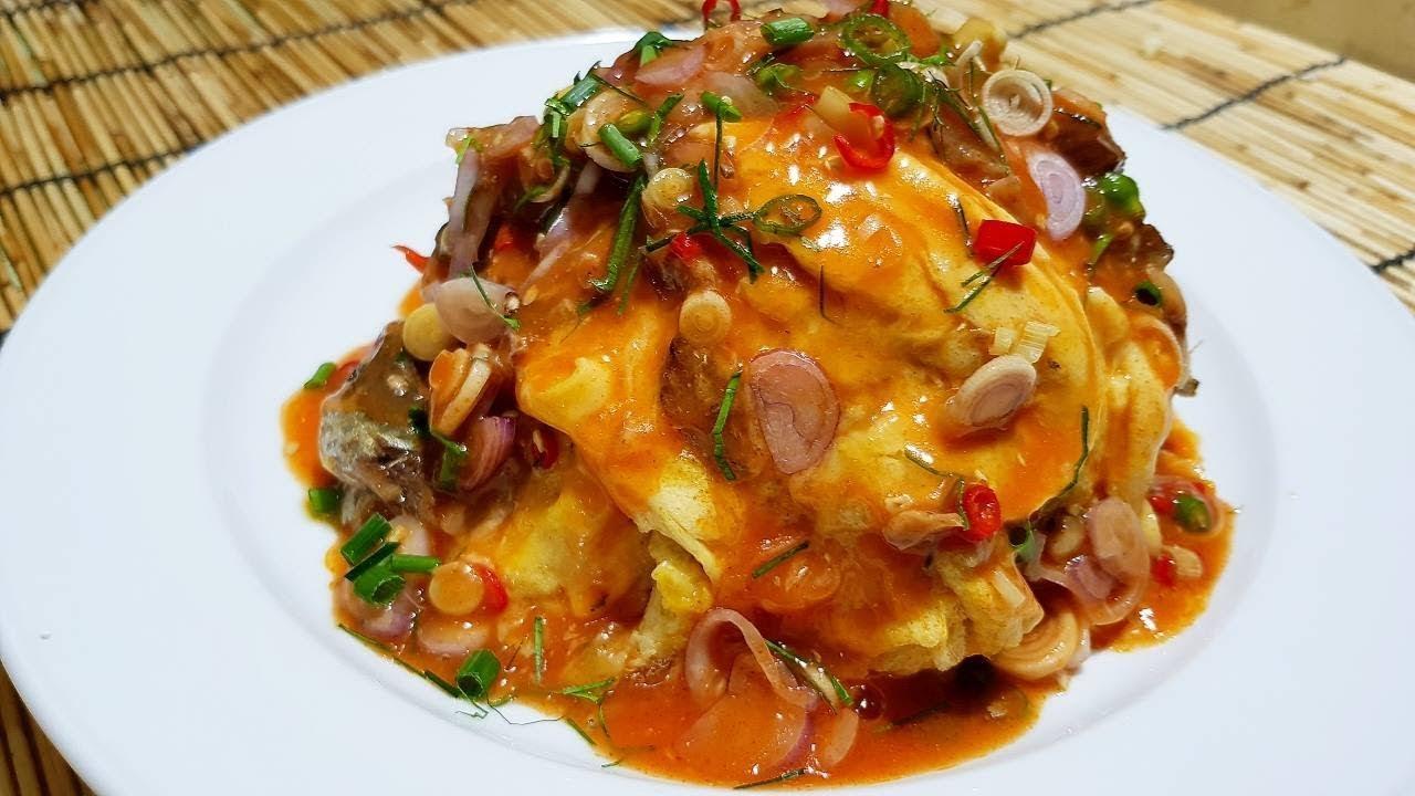 กับข้าวกับปลาโอ 094 : ข้าวยำไข่นุ่มปลากระป๋อง อิ่ม อร่อย ประหยัด - YouTube