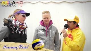 Mila Beach Report mit Pia Riedel und Jenny Heinemann 31.5.13-2.6.13 Smart Beach Tour Hamburg