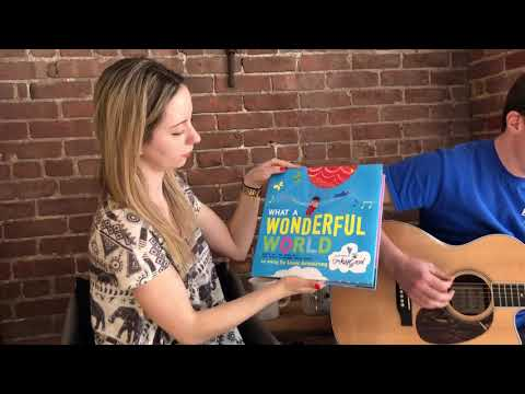 Baby Bandstand Musical Book- What a Wonderful World