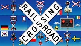 Railway Crossings of the World - Part 1