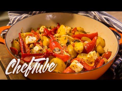 Comment faire des Légumes au Four à la Méditerranéenne - Recette dans la description