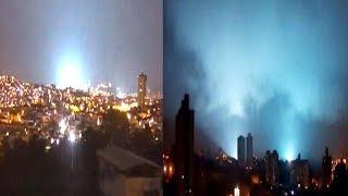 LUCES en el Cielo Durante el Temblor México QUE SON LAS LUCES AZULES Y VERDES del Sismo 7 de Sep