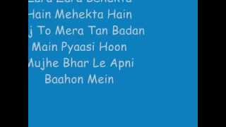 Rehna Hai Tere Dil Mein - Zara Zara Lyrics