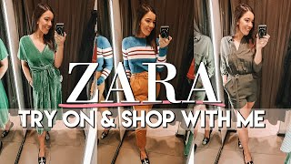 ZARA FALL 2018 TRY ON & High Street Shop With Me