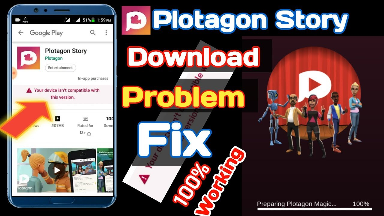 How To Download Plotagon Story Any Android Phone [Bangla