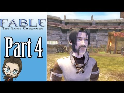 Let's Play Fable - The Lost Chapters With Mah-Dry-Bread Part 4 - Styling Facial Hair And Fishing