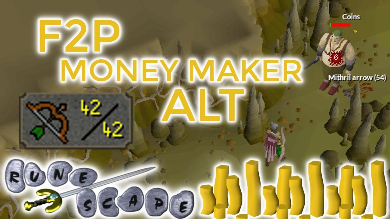 [OSRS] How Much GP Does OGRESS Alt Make in F2P