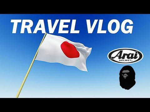 #52 - TRIP TO JAPAN - Hunting Arai Helmet , Bape Shirt , etc #TravelVlog