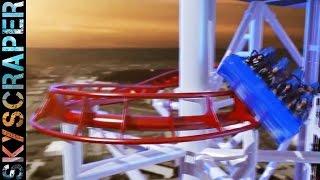 Neue höchste Achterbahn der Welt - erstes Video von SkyScraper