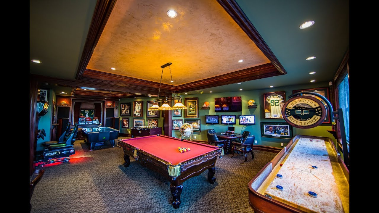 Spaced out ultimate game room youtube - Game room in house ...