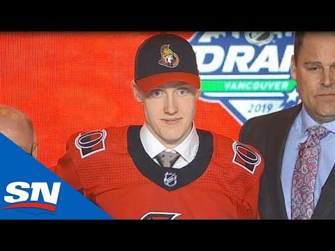771bb68c Ottawa Senators Select Lassi Thomson 19th Overall In 2019 NHL Draft -  YouTube