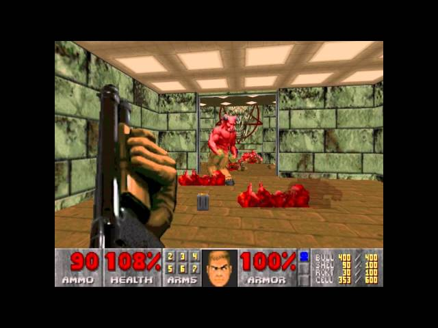 Ultimate Doom E3 M4 House of Pain Travel Video