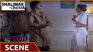 Alludugaru Movie || Mohan Babu & Shobana Romantic Comedy Scene || Mohan Babu, Shobana