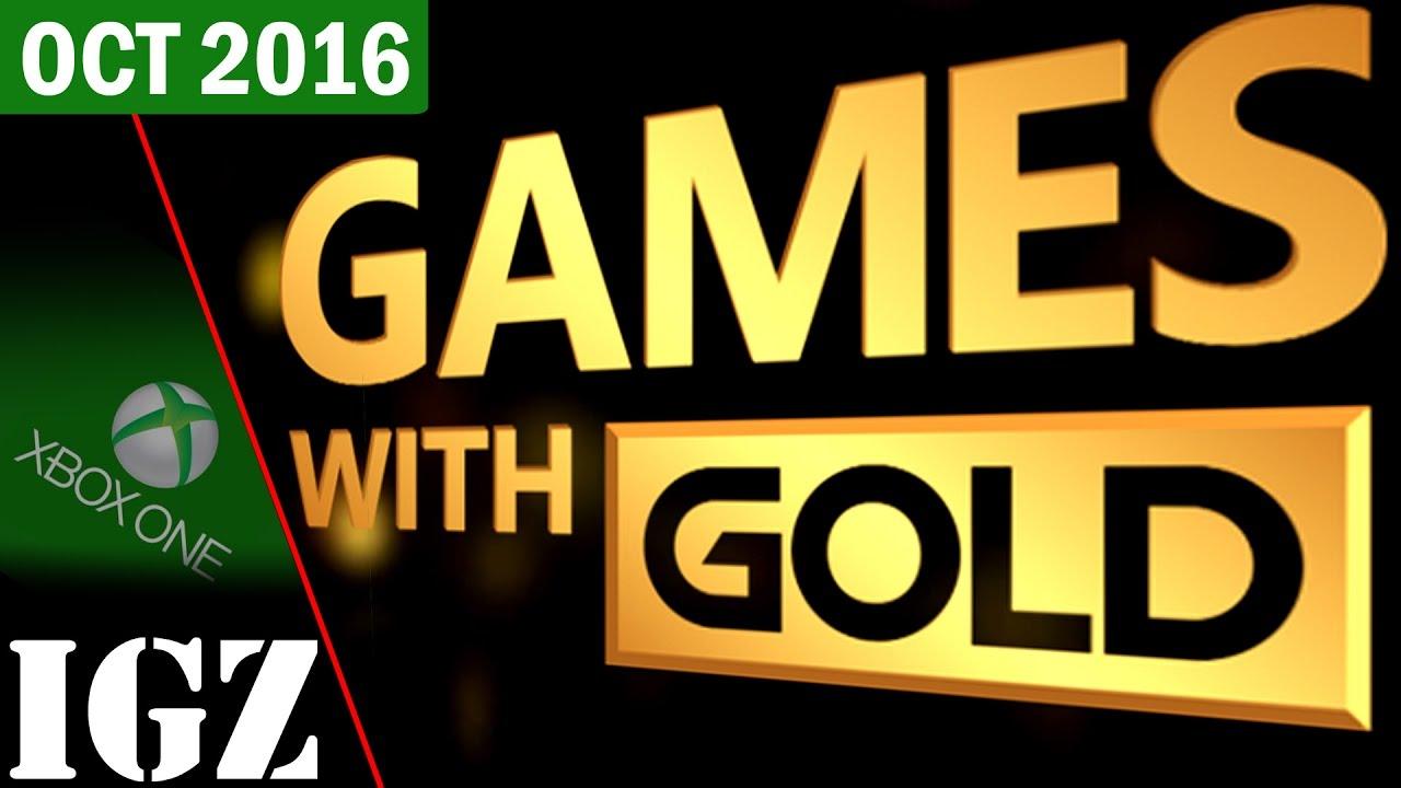 Xbox Live Gold Games Oktober