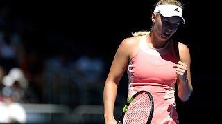 Yulia Putintseva v Caroline Wozniacki highlights (1R) | Australian Open 2016