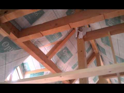 山の木の家 岐阜 自然素材 セルロースファイバー 断熱