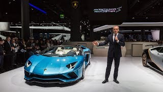 Stefano Domenicali, Chairman and Chief Executive Officer of Automob...