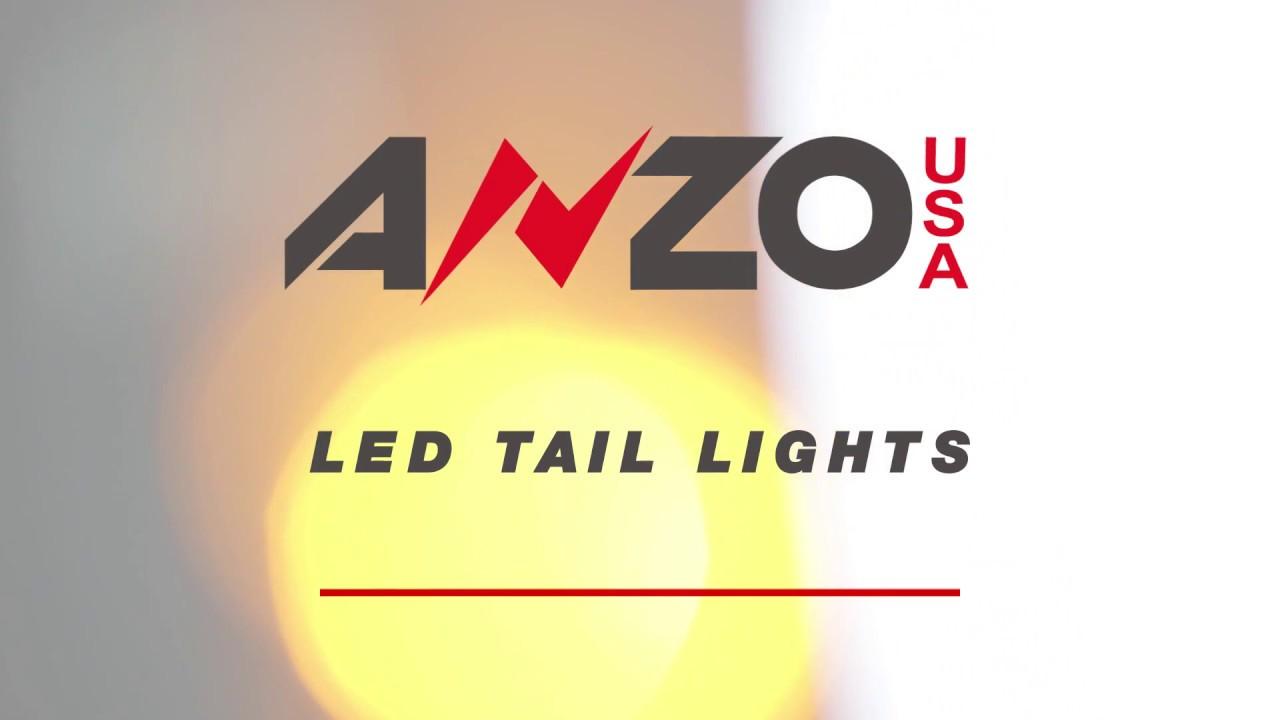 2017 Chevy Colorado Tail Light Wiring Diagram: AnzoUSA Chevy Colorado 2015-2017 Tail lights SKU# 311270 - YouTuberh:youtube.com,Design