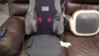 Sharper Image Air & Shiatsu Massage Cushion (MSI-CS775H) Review