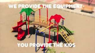 Commercial Playground Equipment- Component Playgrounds