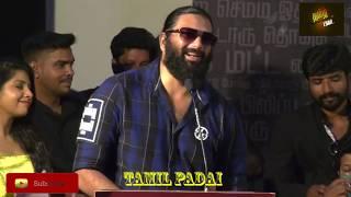Junior MGR at Araathu press meet | Kombu Vacha Singamda | Robert Master | Radha Ravi