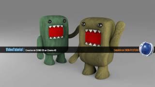 Crea a  DOMO 3D |  Tutorial Cinema 4D en  Español |  Por BG