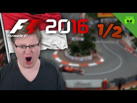 DIE OPFER VON MONACO | Monaco 1/2 🎮 F1 2016 #25